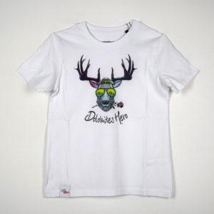 Dolomiten Hirsch kinder T-shirt